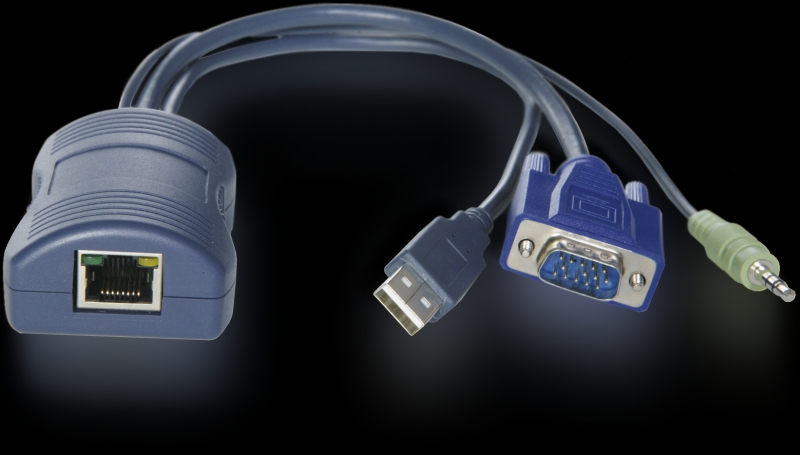 Acces module VGA, USB, audio pro AdderView KVM