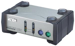 ATEN 2port KVM, PS/2, 1,2m