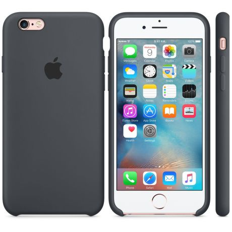 iPhone 6S Silicone Case Charcoal Gray