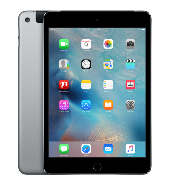 iPad mini 4 Wi-Fi+Cell 32GB Space Grey