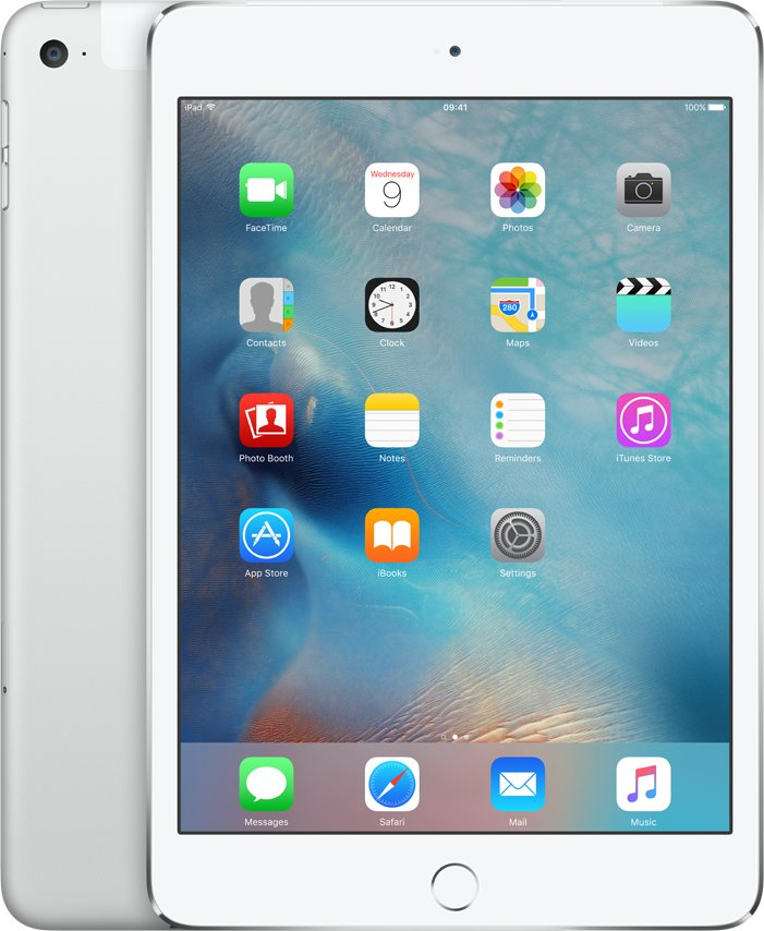iPad mini 4 Wi-Fi Cell 16GB Silver