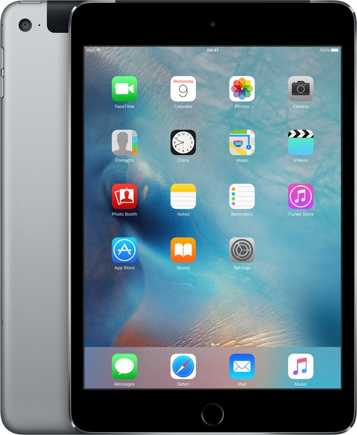 iPad mini 4 Wi-Fi Cell 64GB Space Gray