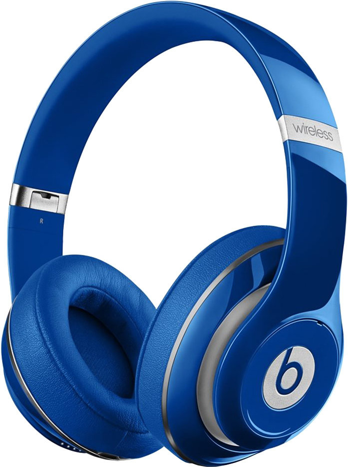 Beats Studio 2 Wireless Over-Ear Headphones - Blue