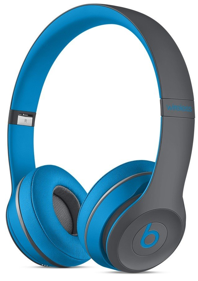 Beats Solo2 Wireless Headphones, Active - Blue