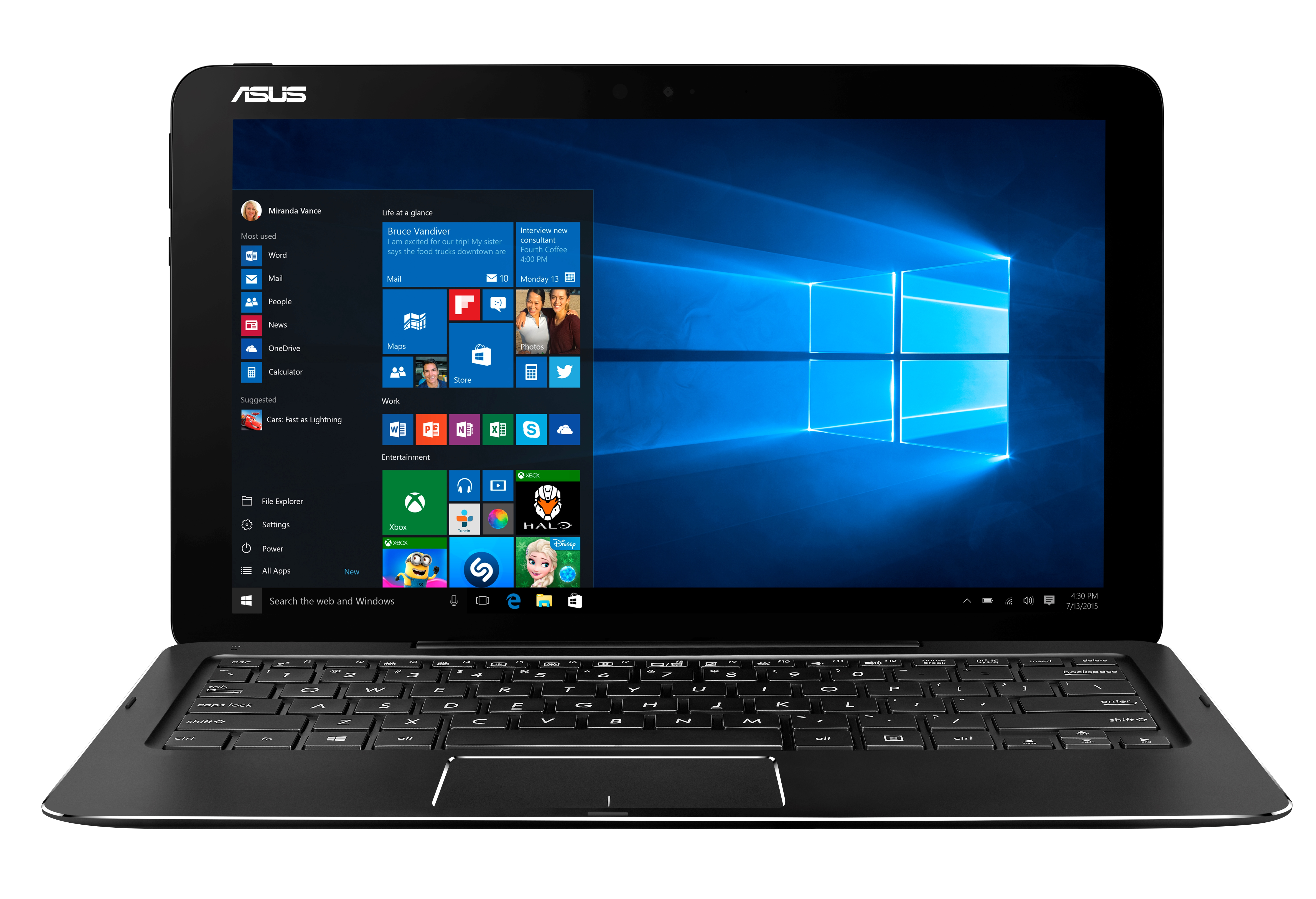 ASUS T302CA 12,5T/M3-6Y30/128SSD/4G/Win10