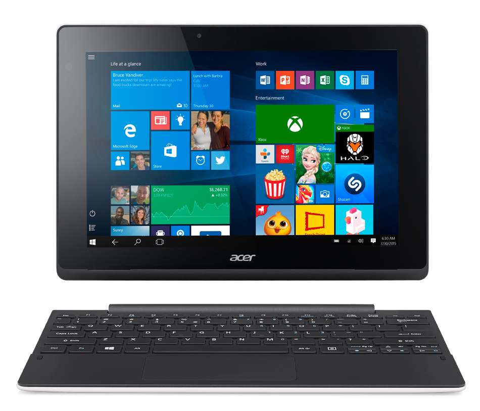 Acer Aspire Switch 10 E/10,1/Z830/64G/2G/W10 White