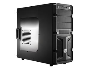 CoolerMaster case miditower K350, ATX,black,USB3.0