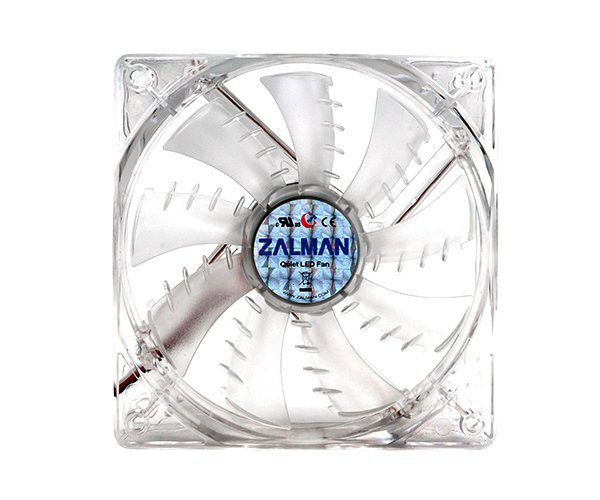 Ventilátor Zalman ZM-F3 LED SF 120mm, 23 dBA, 1200rpm