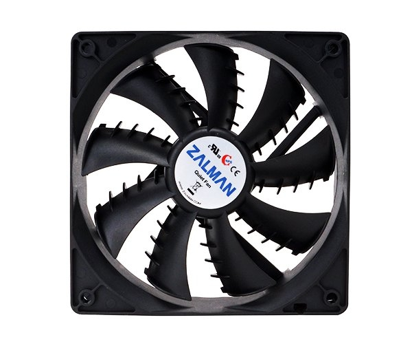 Ventilátor Zalman ZM-F1 PLUS SF 80mm, 20-23 dBA, 2000rpm