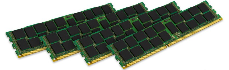 16GB 1600MHz DDR3 ECC Reg CL11 SR x4, 4x4GB