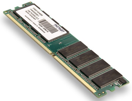 1GB DDR 400Mhz PATRIOT CL3 s chladičem