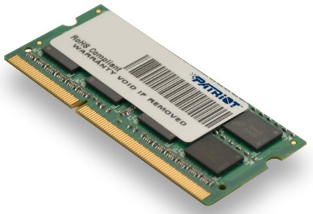 SO-DIMM 4GB DDR3-1333MHz PATRIOT CL9 DR