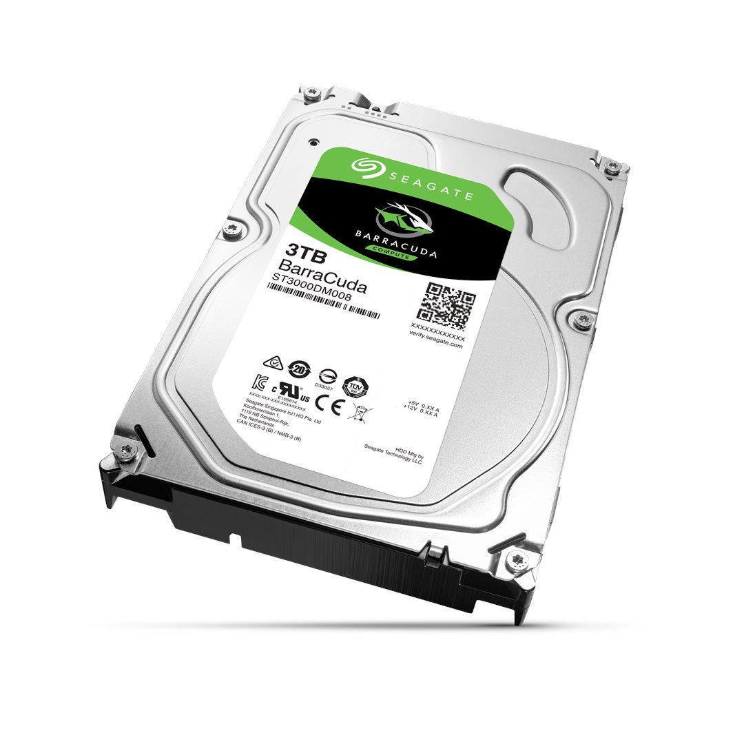 HDD 3TB Seagate Barracuda 64MB SATAIII 7200rpm 2RZ