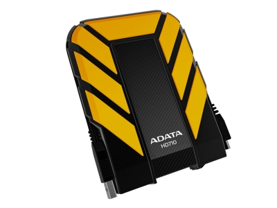 "ADATA HD710 1TB External 2.5"" HDD Yellow"