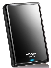 "ADATA HV620 500GB External 2.5"" HDD black"