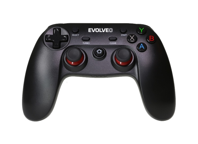 EVOLVEO Fighter F1, bezdrátový gamepad pro PC, PlayStation 3, Android