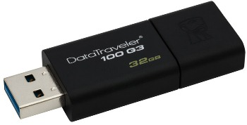 32GB Kingston USB 3.0 DataTraveler 100 G3