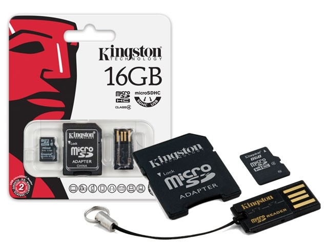 16GB Mobility Kit G2 Kingston class 4