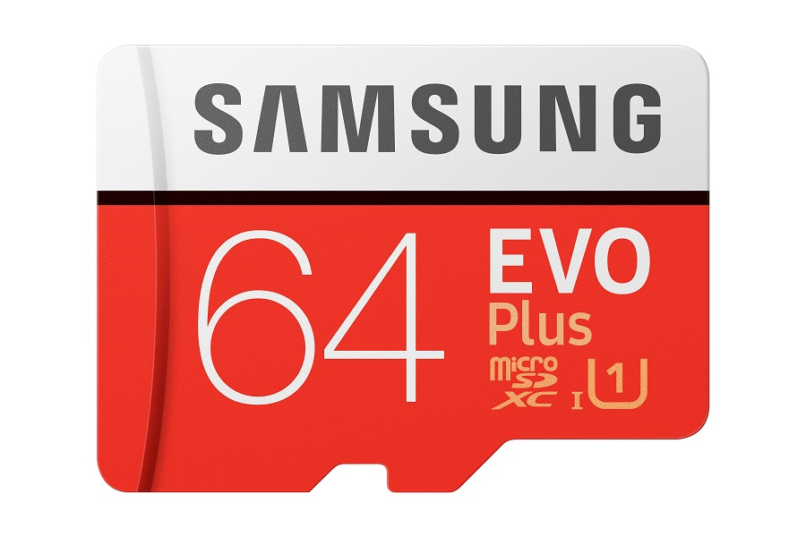 Micro SDXC 64GB Samsung EVO Plus + SD adaptér