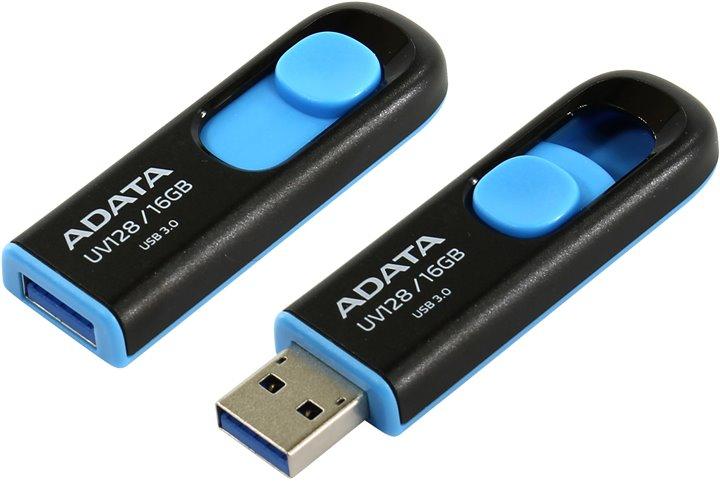 ADATA USB UV128 16GB blue (USB 3.0)
