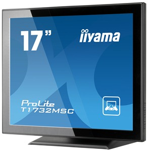 "17"" LCD iiyama T1732MSC-Multitouch :projected cap."
