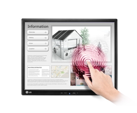 """17"""" LG LCD 17MB15T - touch"""