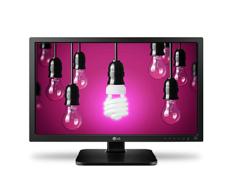 "22"" LG LED 22MB37PU - Full HD, 16:9, VGA, DVI, USB, VESA, 5ms"
