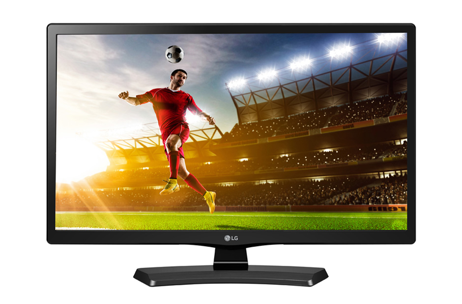 "24"" LG LED 24MT48DF - HD Ready, 16:9, HDMI, USB, SCART, DVB-T/C, repro"