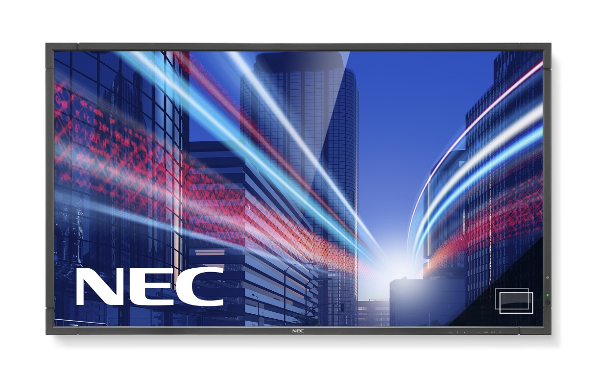 "55"" LED NEC P553 PG-FHD,SPVA,700cd,rep,24/7"