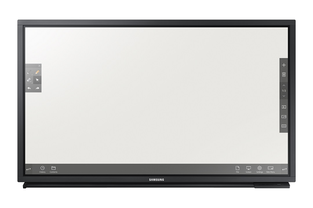 "82"" LED Samsung DM82E-BM-FHD,430cd,touch,wifi,24/7"