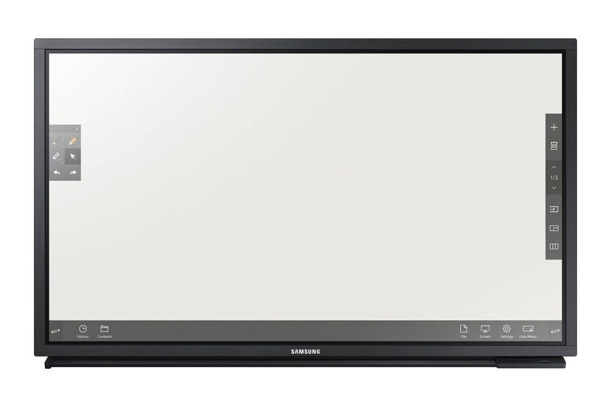 "82"" LED Samsung DM82E-BR-FHD,430cd,touch,wifi,24/7"