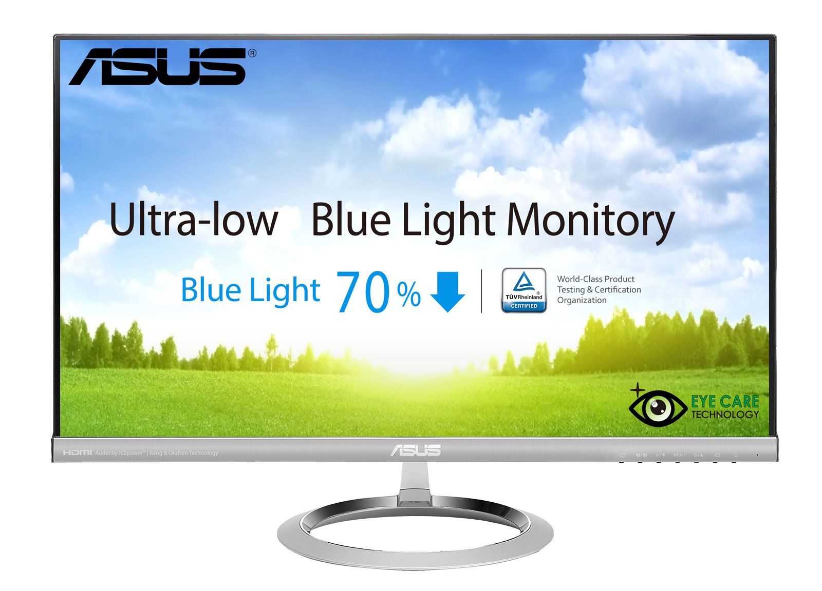 "25"" LED ASUS MX259H -5ms,2x HDMI,VGA,repro"