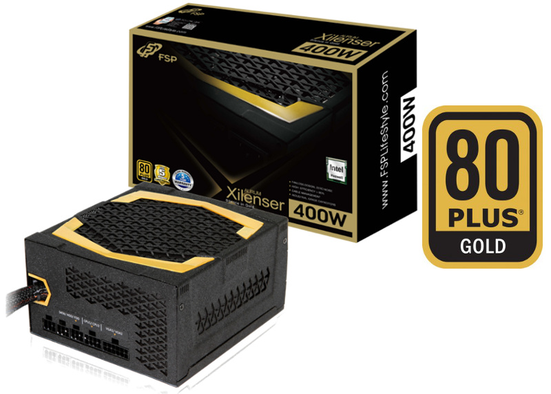 Fortron AURUM Xilenser 400W 80PLUS GOLD, Fanless