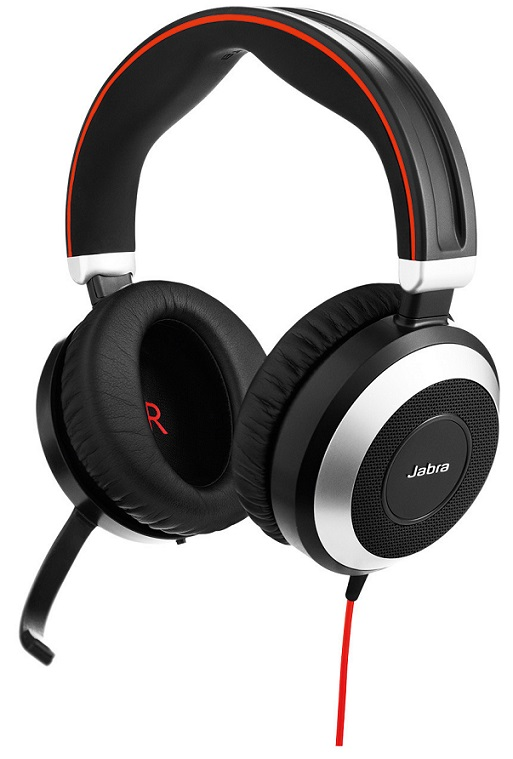 Jabra Evolve 80, Duo, Jack