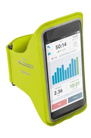 TRUST Bracus Arm Band for iPhone6/6S Plus - lime green