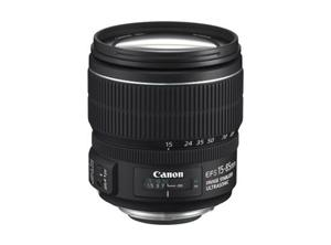Canon objektiv EF-S 15-85mm f3,5-5,6 IS USM