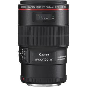 Canon objektiv EF100mm f/2,8 L IS USM Macro