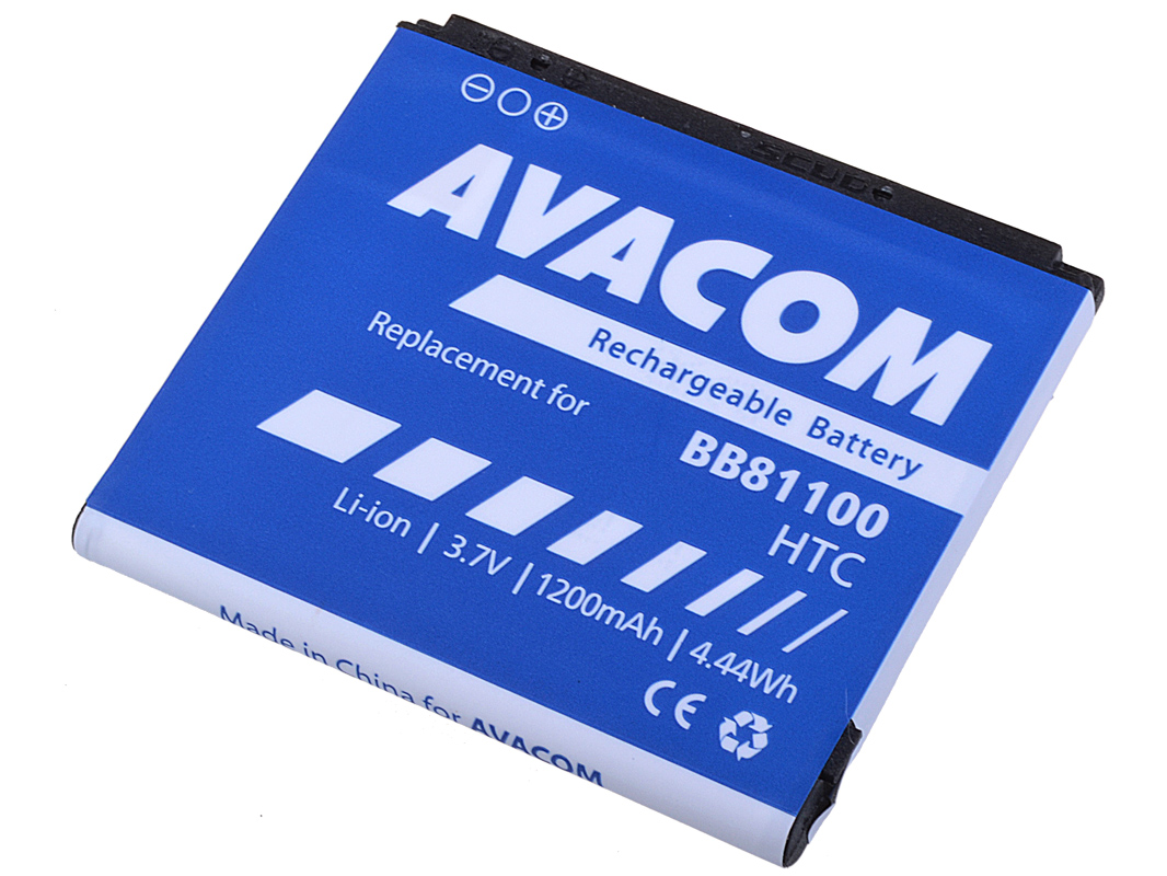 Baterie AVACOM PDHT-HD2-S1200A do mobilu HTC HD2 Li-Ion 3,7V 1230mAh (