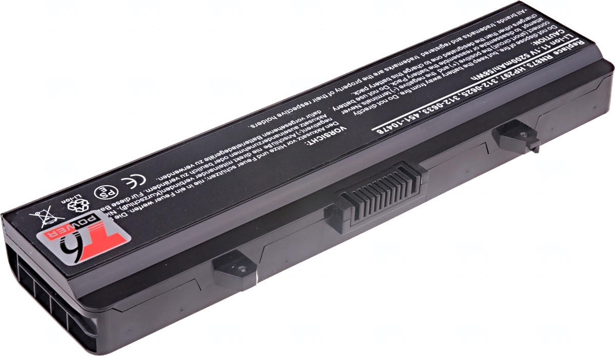 Baterie T6 power Dell Inspiron 1525, 1545 serie, 6cell, 5200mAh