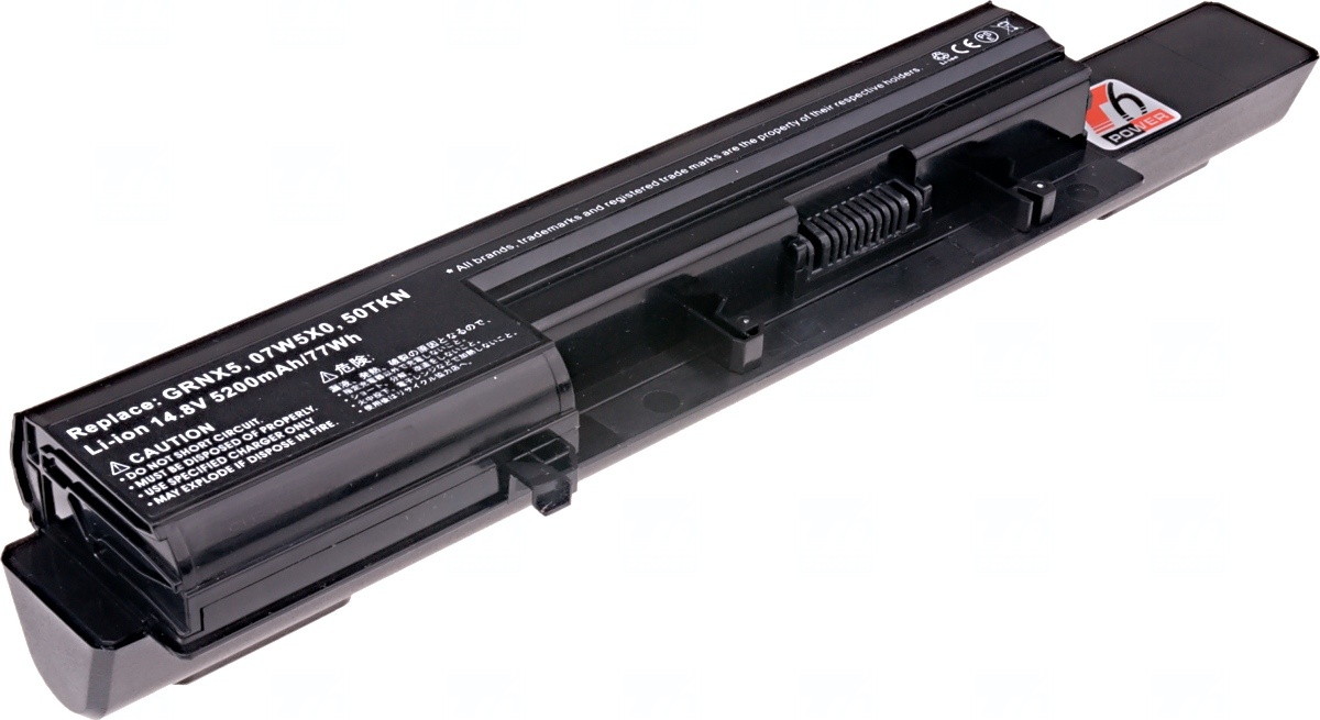 Baterie T6 power Dell Vostro 3300, 3350 serie, 8cell, 5200mAh