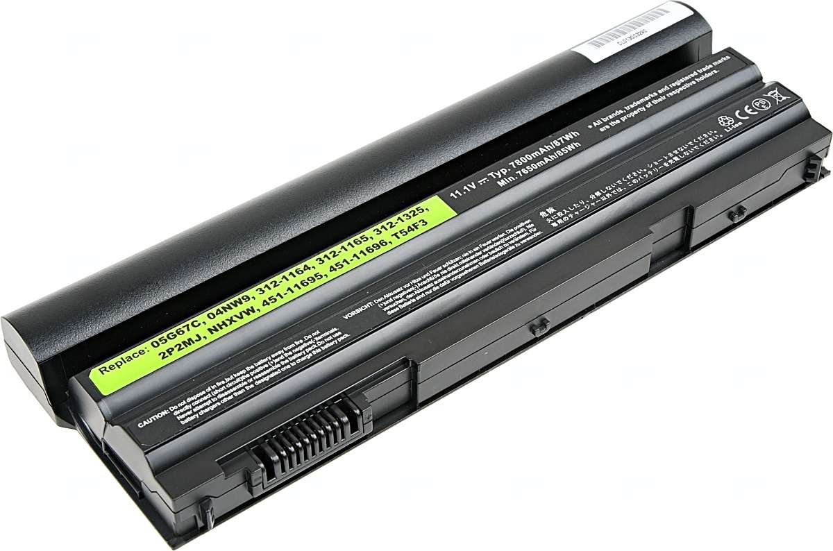 Baterie T6 power Dell Latitude E6420, E6430, E6520, E6530, E5420, E543