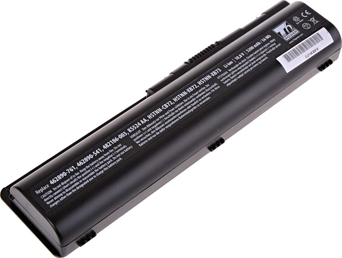 Baterie T6 power HP Pavilion dv4-1000, dv5-1000, dv6-1000 serie, 6cell