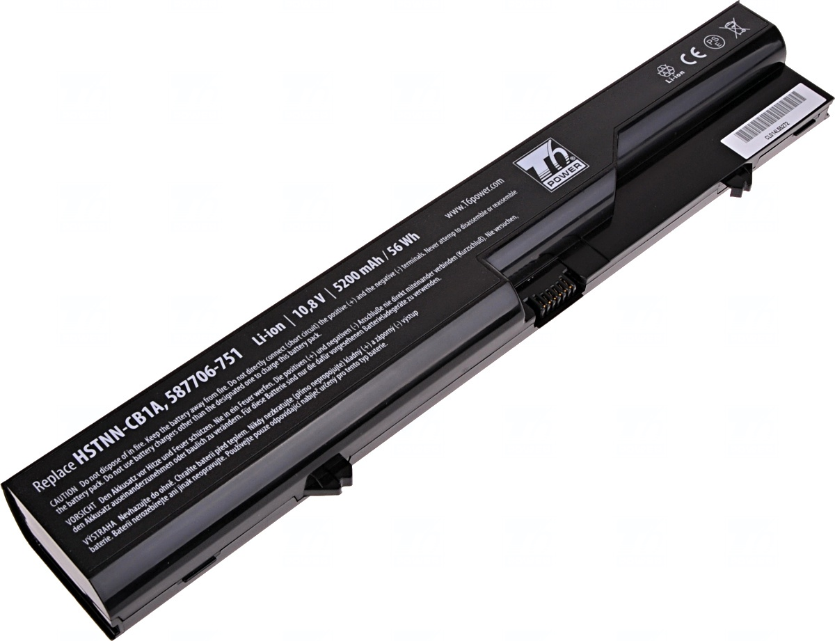 Baterie T6 power HP ProBook 4320s, 4420s, 4520s, HP 320, 325, 420, 620