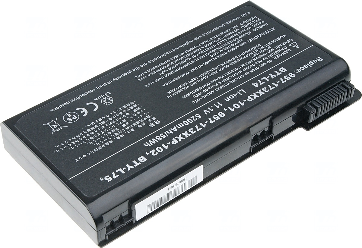 Baterie T6 power MSI CX500, CX600, CX610, CX620, CX630, CX720, CR610,
