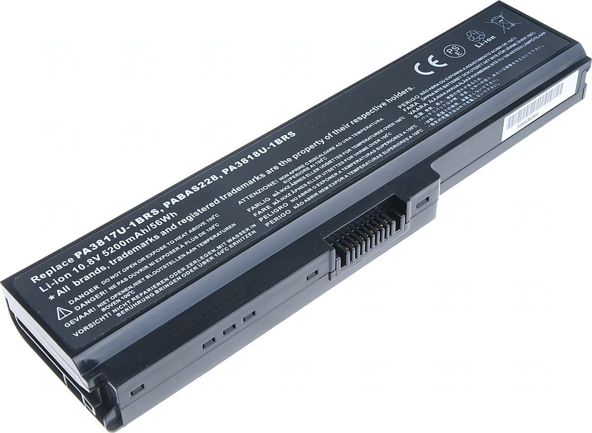 Baterie T6 power Toshiba Satellite L730, L735, L740, L745, L750, L755,