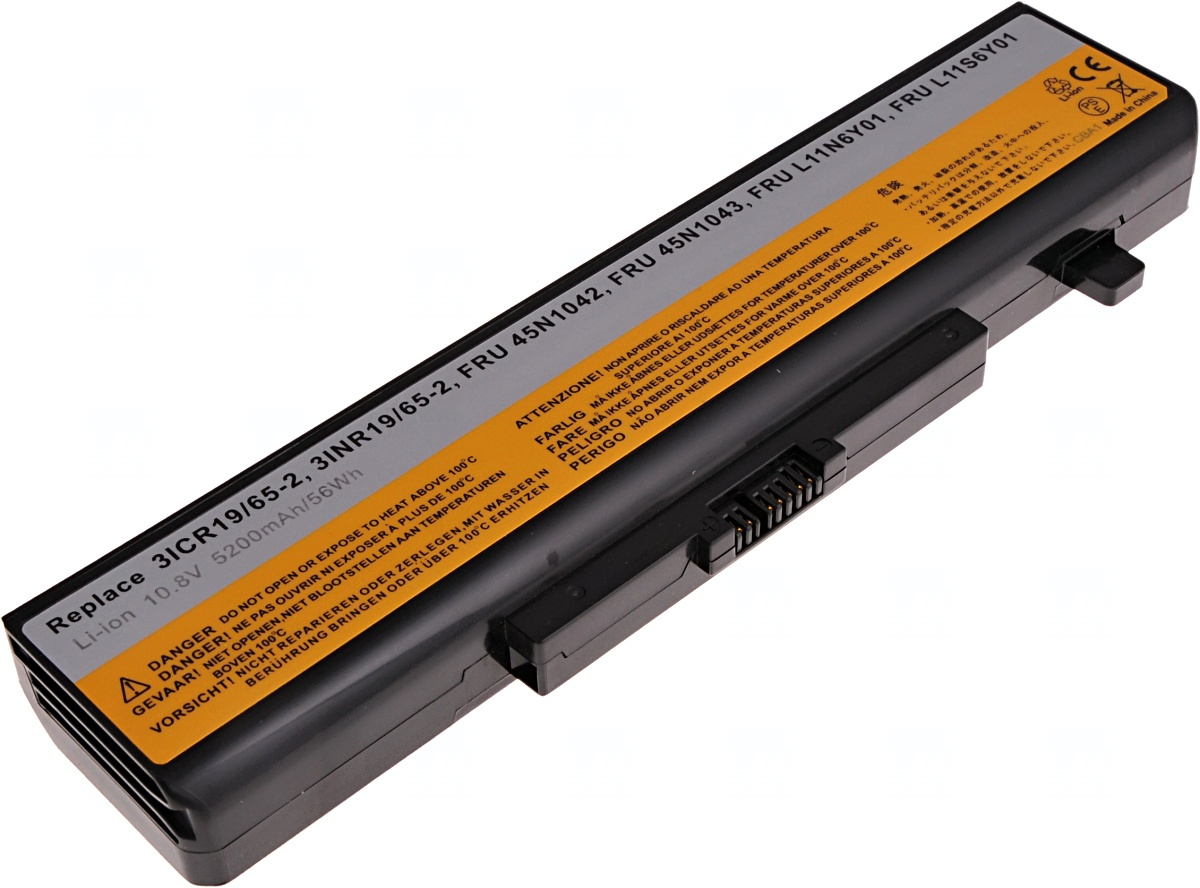 Baterie T6 power Lenovo IdeaPad Z580, G580, G500, G510, G700, 6cell, 5