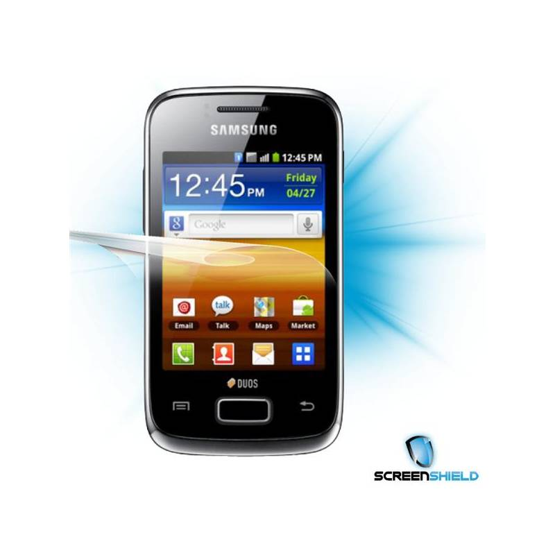 ScreenShield™ Galaxy Y S6102 ochrana displej