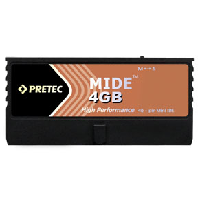 Pretec Industry miniIDE Flash Disk 4GB (Lynx)