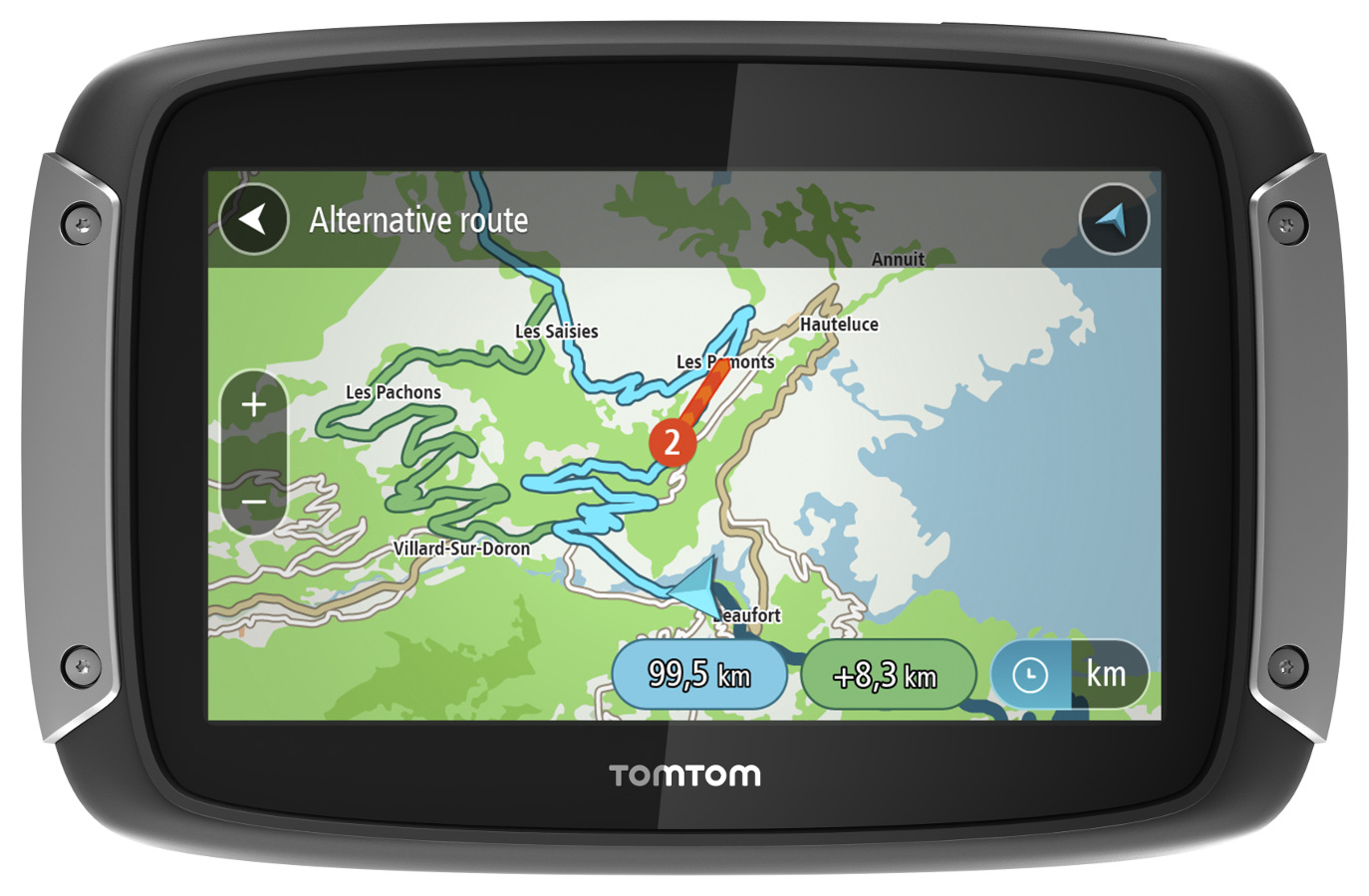 TomTom Rider 410 World pro motocykly Premium pack, LIFETIME mapy