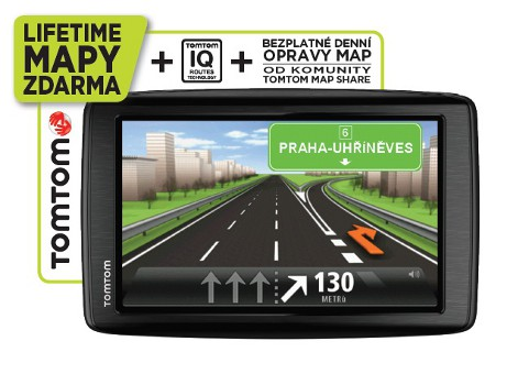 TomTom START 20 Regional CEE LIFETIME mapy
